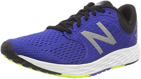 New Balance Men s Zante V4 Fresh Foam Running Shoe, Team Royal Black hi lite, 15 D US