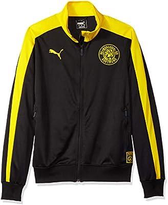 PUMA Men's BVB T7 Track Jacket, Black F, M: Amazon.ae: Amazon US