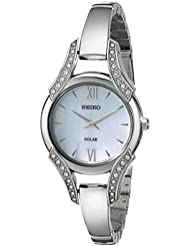 Seiko Womens SUP213 Stainless Steel Bangle Watch
