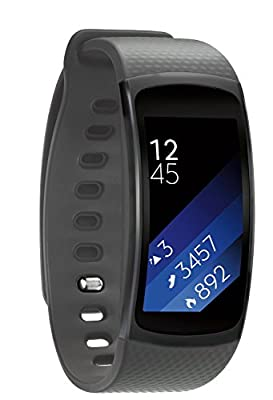 """EloBeth Replacement Bands for Fit2 Fit 2 Smart Watch Elastomer Strap Plastic Wristband for Samsung Gear Fit 2 SM-R360 Fitness Activity Tracker (5.9""""-7.5"""")"""