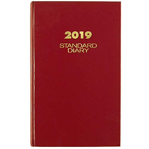 AT-A-GLANCE 2019 Standard Diary, Daily Reminder, 8-3/16