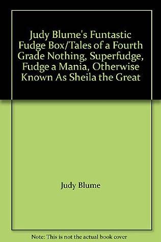 book cover of Judy Blume\'s Funtastic Fudge Box