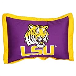 College Covers LSU Tigers Printed Pillow...