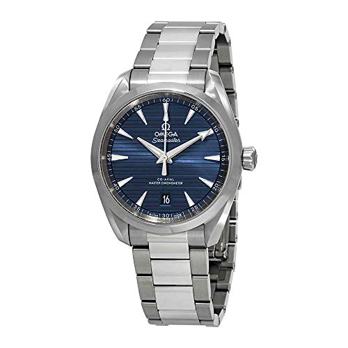 Omega Seamaster Aqua Terra Automatic Blue Dial Mens Watch 220.10.38.20.03.001