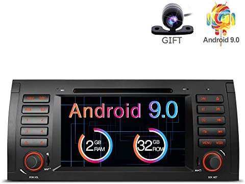 Freeauto Android 8.1 Estéreo para Auto para BMW E39 E53 M5 X5 Radio de Coche Audio 7