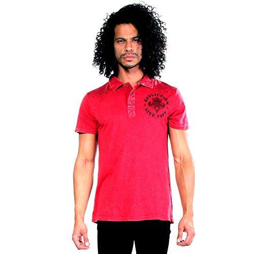 Cotton Polo Shirt Affliction (Affliction Royale Polo Shirts S Men)