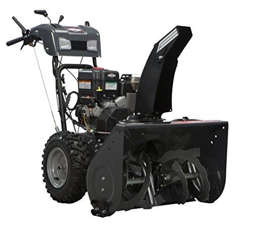 Briggs and Stratton 1696156 Dual-Stage Snow Thrower with 250cc Engine and Electric Start
