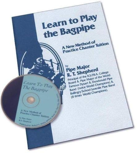 (New Learn to play Bagpipes Maual Book with CD For The Music Instruments Rosewood Practice)