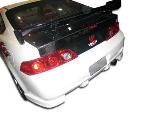 Acura Rsx Fiberglass (2005-2006 Acura RSX Duraflex C-2 Rear Bumper Cover - 1 Piece)