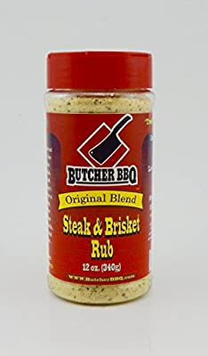 Butcher BBQ Texas Style Steak and Brisket Rub 12oz
