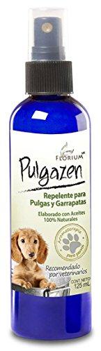 Pulgazen - Repelente Natural Para Pulgas 125 ml Auténtica Aromaterapia Para Perros, Florium