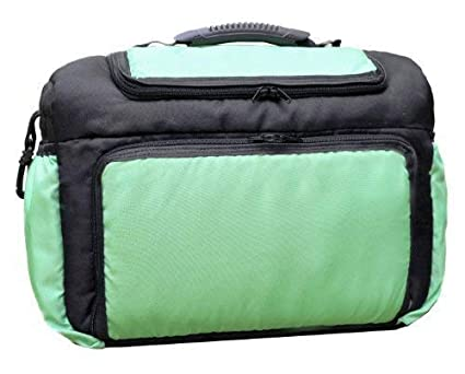 TK-10 bolsa cambiador con accesorios KIM de Baby-joy grafito colour verde XXXL