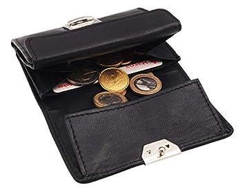 Geldbörse Minibörse mit Hartgeldfach und 2 Scheinfächern Portemonnaie