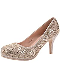 MAYRA06 Cinderella Princess Sparkle Crystal Gem...