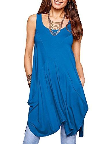 説得力のある放映先駆者Fashare DRESS レディース US サイズ: S カラー: ブルー