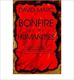 bonfire of the humanities essays on television subliteracy and   bonfire of the humanities essays on television subliteracy and long term memory loss author david marc published on 1995 com books