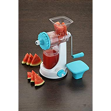Ganesh Fruit & Vegetable Steel Handle Juicer, Blue 7