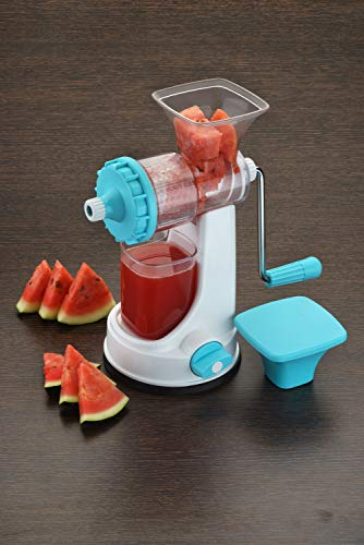 Ganesh Fruit & Vegetable Steel Handle Juicer, Blue 3