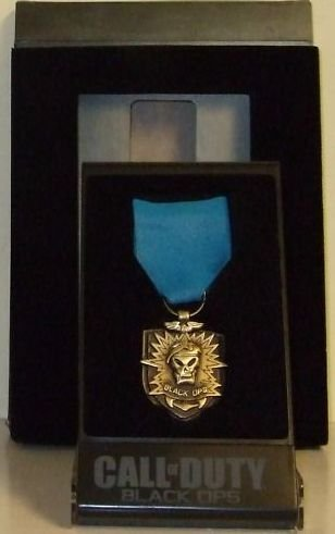 Official Call of Duty Black Ops Medal w/Case (Prestige Edition Exclusive)