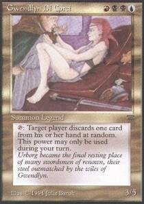Magic: the Gathering - Gwendlyn Di Corci - Legends by Magic: the Gathering