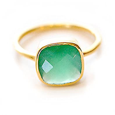 Buy Jaipur gemstone 4 00 carat Emerald Panna Bronze Ring Natural