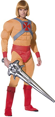 He Man Prince Adam Fancy Dress Costume Medium