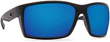 Costa Del Mar Reefton Sunglasses Blackout / Blue Mirror 580Plastic