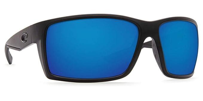 c9e26a48f6 Amazon.com  Costa Del Mar Reefton Sunglasses Blackout   Blue Mirror ...