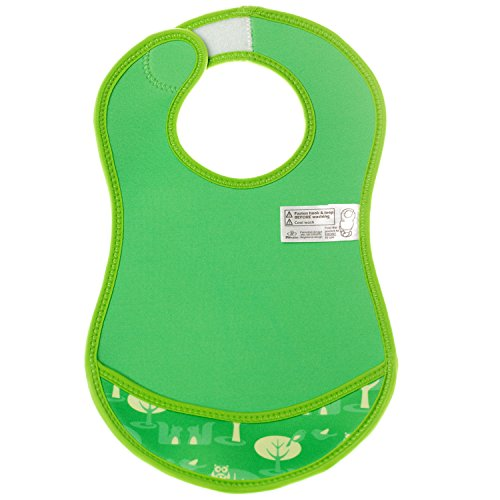 Bibetta Ultrabib Baby Bib (Green Owl) by BabyCenter (Image #6)