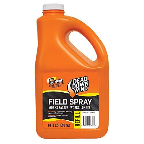 Dead Down Wind Evolve Field Spray Refill – 64 oz, Unscented, Broad-Spectrum, Odor-Eliminating Hunting Spray