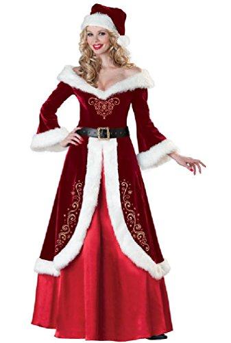 Santa Claus Mrs. St. Nick Adult XLarge Halloween Costume