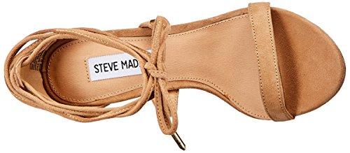 Steve Madden Presidnt - zapatos con correa Mujer Beige (Sand)