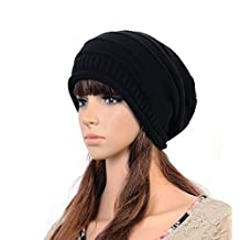 Fashion Soft Stretch Cable Knit Slouchy Beanie Skull Cap Warm Autumn Winter Ski Hat for Men Women Xmas Gift