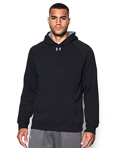 Under Armour Men's UA Rival Fleece Team Hoodie Large Black