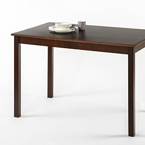 Zinus Juliet Espresso Wood Dining Table / Table Only