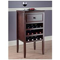 Storage Wine Rack Sideboard Buffet, Space Saving Design, Durable Wood Construction, Wine Cabinet, Practical Furniture, Suitable For Kitchen, Dining Room, Restaurant, Espresso Finish + Expert Guide