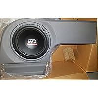 MTX ThunderForm 2005-2008 Dodge Magnum CHARCOAL 10 Custom LOADED Subwoofer Box/Bass Enclosure