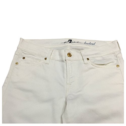 Jeans Cotone Mankind Bianco All Italy Bootcut In Donna For 98 Made Mod 7 qt4aff