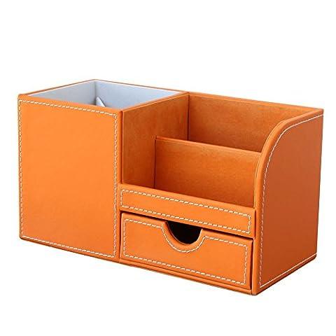 multi-function desktop pen holder/Stationery storage box/ drawer cosmetic storage box-C