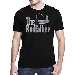 Gbond Apparel The Rodfather Funny Parody T-Shirt, XL, Black