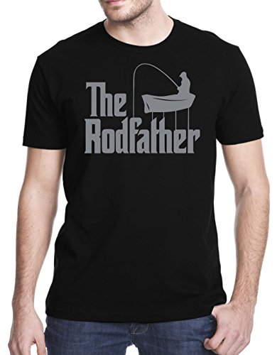 Gbond Apparel The Rodfather Funny Parody T-Shirt, XL, Black