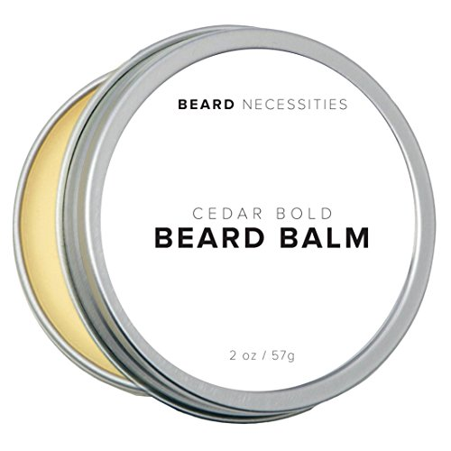 Best Beard Balm & Leave in Conditioner by Beard Necessities. Natural Wax Will Soften Mens Facial Hair While Promoting Hair Growth. Tame Your Beard Today! (2 oz)