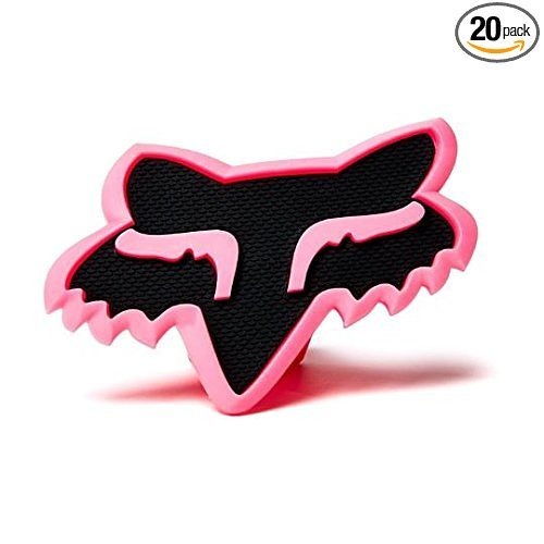 (Fox Racing PINK / BLACK Trailer Hitch Cover 2