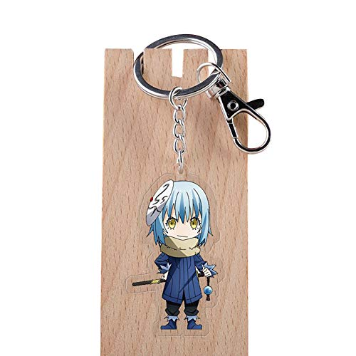 - Bowinr That Time I Got Reincarnated as a Slime Keychain, Japanese Anime Kawaii Acrylic Keyring for Kids, Teens, Adults, and Anime-Fans( Style 27)