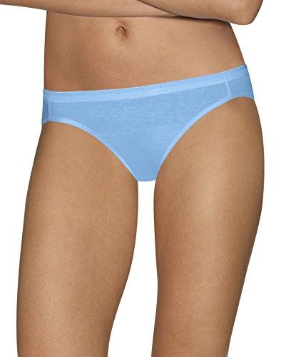 Hanes Women's Ultimate Comfort Cotton Bikini Panties 5-Pack