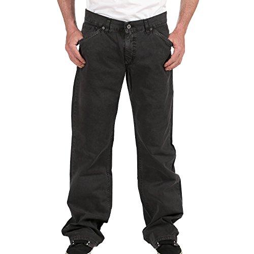 Mustang Herren Jeans, Männerjeans Jack Bootcut based 3193 6102 440 Dark grey- Regular Fit, Zip Fly