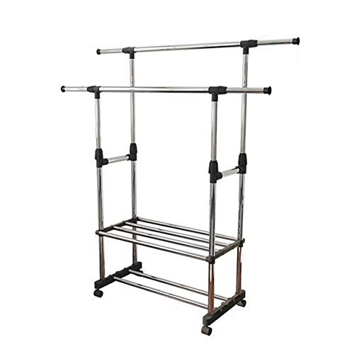 Indoor Airers 3 Tier Clothes Laundry Drying Rack,Adjustable