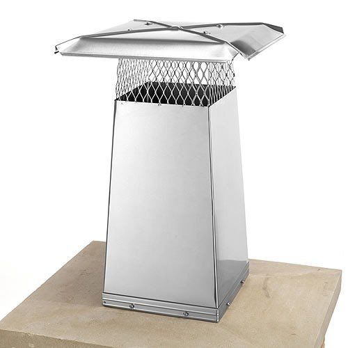 8'' x 13'' Stainless Steel Flue Stretcher - 34'' High (Flue Stretcher)