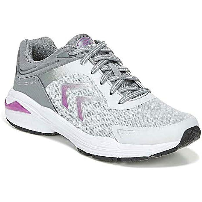 Dr. Scholl's Shoes Women's Blaze Oxfords Sneaker, Grey, 9