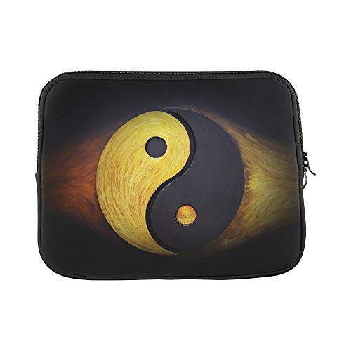 - Design Custom Yingyang Martial Arts Symbol Texture Sleeve Soft Laptop Case Bag Pouch Skin for Air 11
